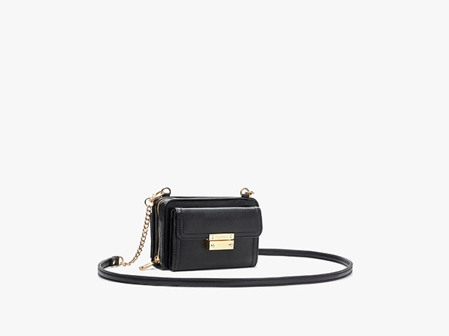 Myabetic Tina Diabetes Mini Crossbody, Black