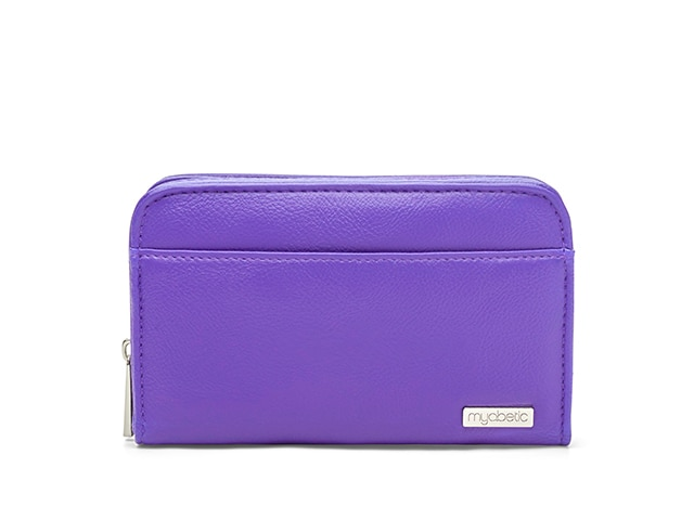 Myabetic Banting Diabetes Wallet, Purple