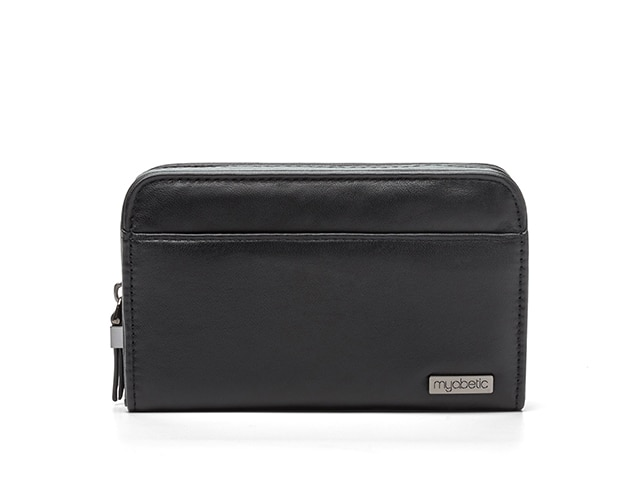 Myabetic Banting Diabetes Wallet, Genuine Leather