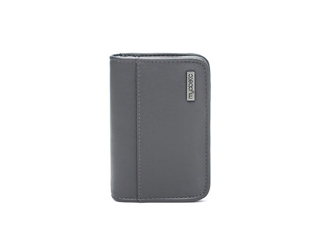 Myabetic Clemens Diabetes Compact Wallet, Charcoal