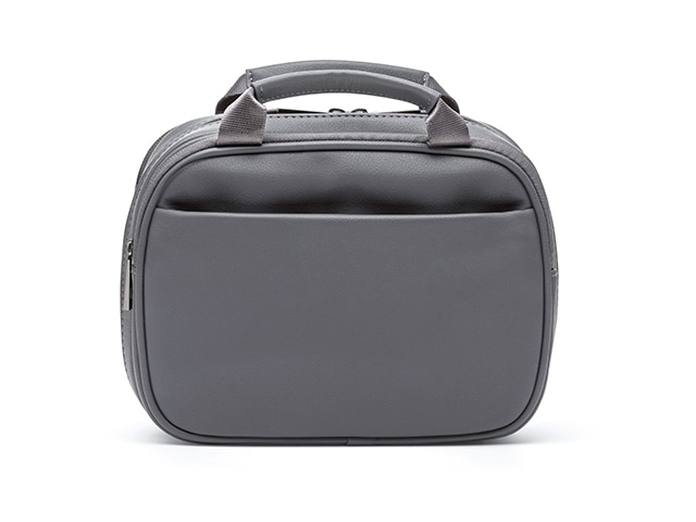 Mybetic Thompson Diabetes Travel Carry, Charcoal Vegan Leather