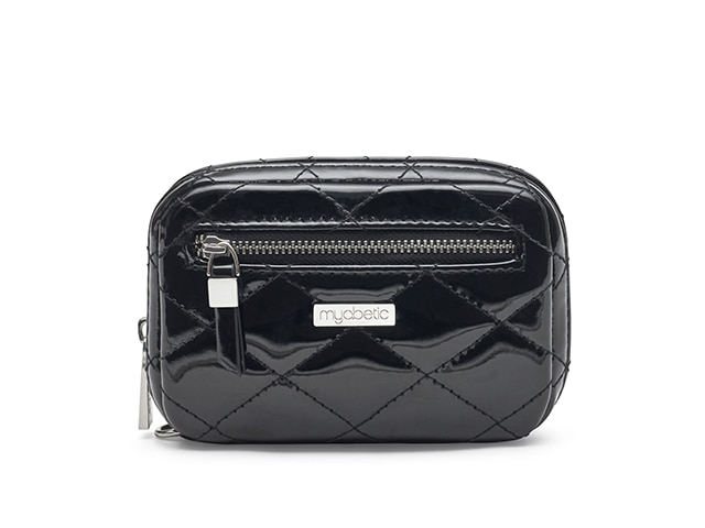 James Diabetes Compact Case, Quilted Gloss