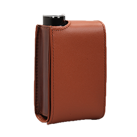Leather Vertical Case, Warm Brown