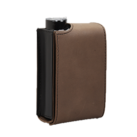 Leather Vertical Case, Grey