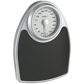 Conair® Extra-Large Dial Analog Precision Scale