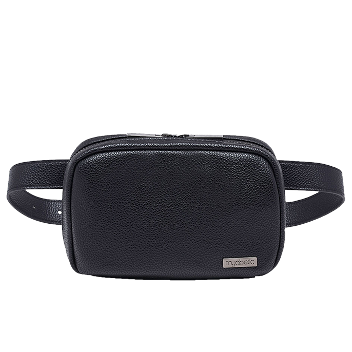 "Joslin Diabetes Belt Bag, Black, Small Belt Size (26-32"")"