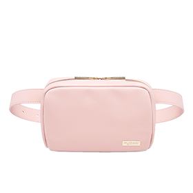 "Myabetic Joslin Diabetes Belt Bag, Blush, Large Belt Size (38-44"")"
