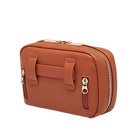 Myabetic Joslin Diabetes Belt Bag, Cognac, No Belt