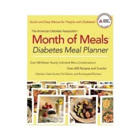 The American Diabetes Association Month of Meals: Diabetes Meal Planner