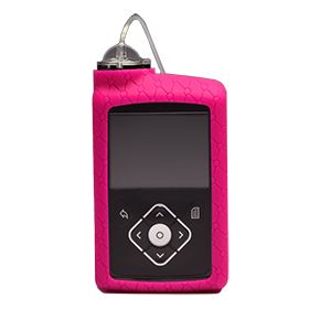 MiniMed™ 600 Series Silicone Skin, Pink