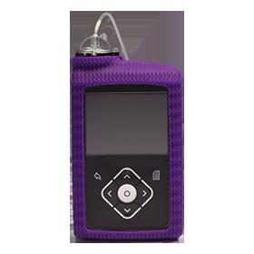 MiniMed™ 600 Series Silicone Skin, Purple