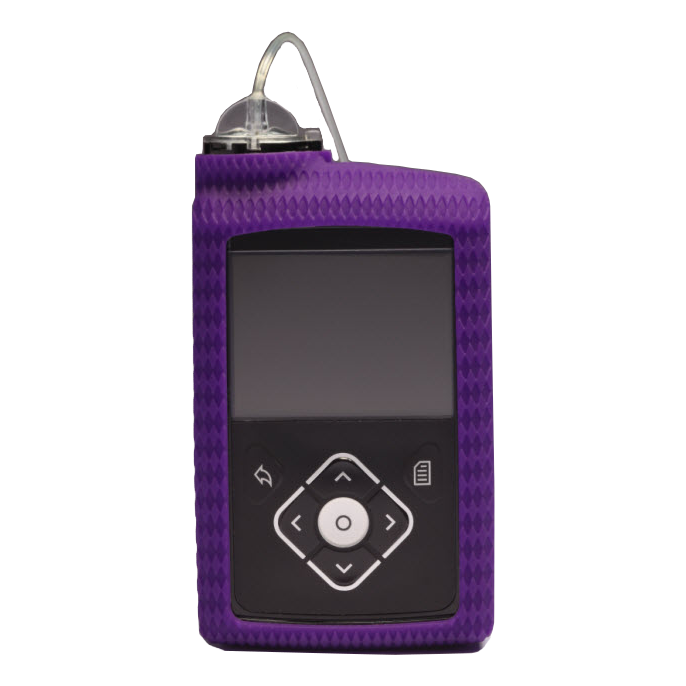 MiniMed™ 600 Series Silicone Skin, Purple