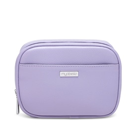 Myabetic Clark Diabetes Compact Double Zip, Lavender