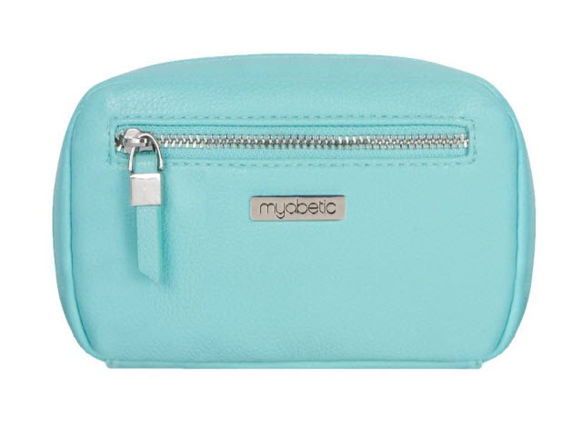 Myabetic James Diabetes Compact Case, Paradise Blue