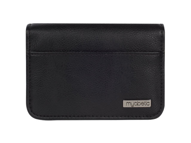 Myabetic Clemens Diabetes Wallet, Black