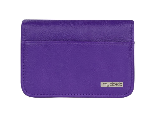 Myabetic Clemens Diabetes Wallet, Purple