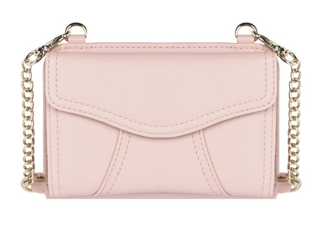Marie Diabetes Mini Crossbody, Blush