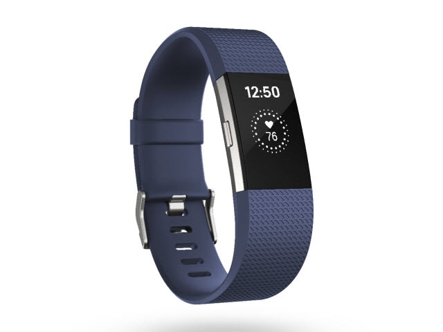 "Fitbit Charge 2<sup><font size=""1"">™</font></sup> - Blue, Small"
