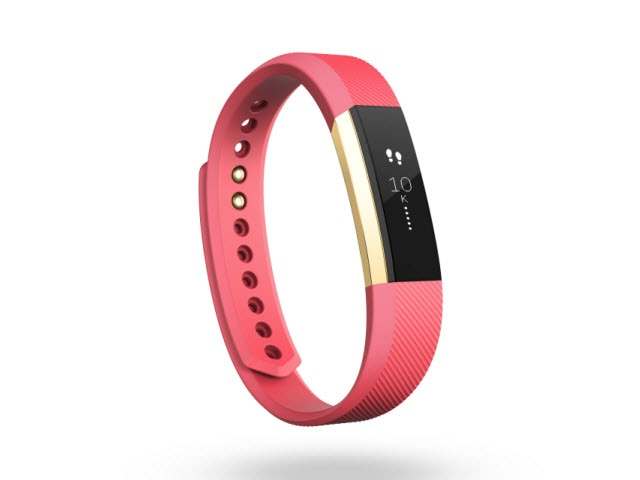 "Fitbit Alta<sup><font size=""1"">™</font></sup> - Gold/Black, Small"