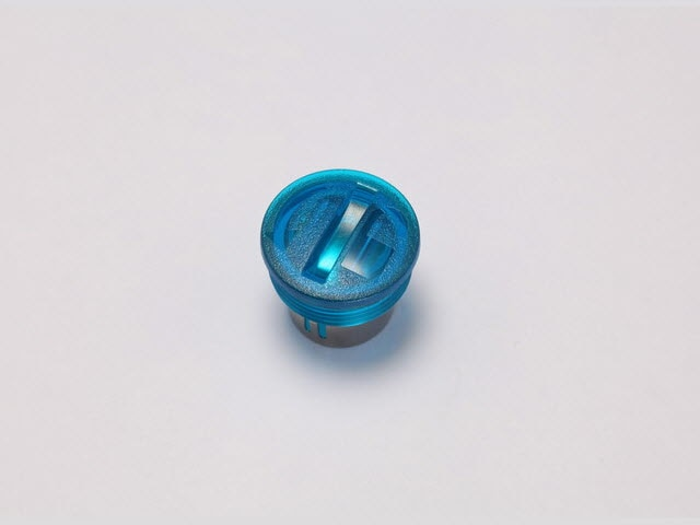 Replacement Battery Cap, Blue