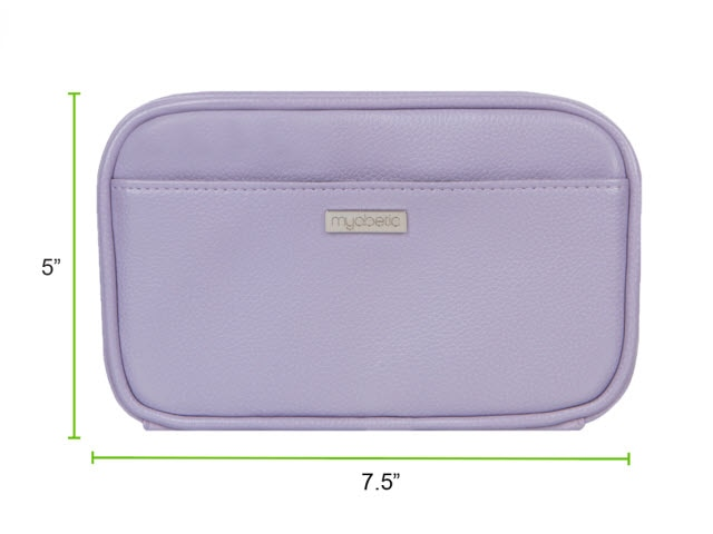 Myabetic Kamen Diabetes Case, Lavender
